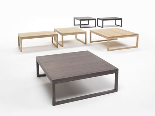 Coffee tables with wooden top