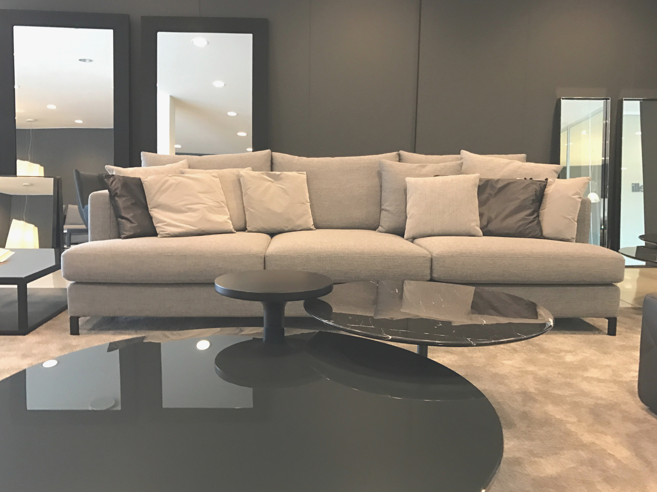 divano contemporaneo design tessuto loft110 loft110