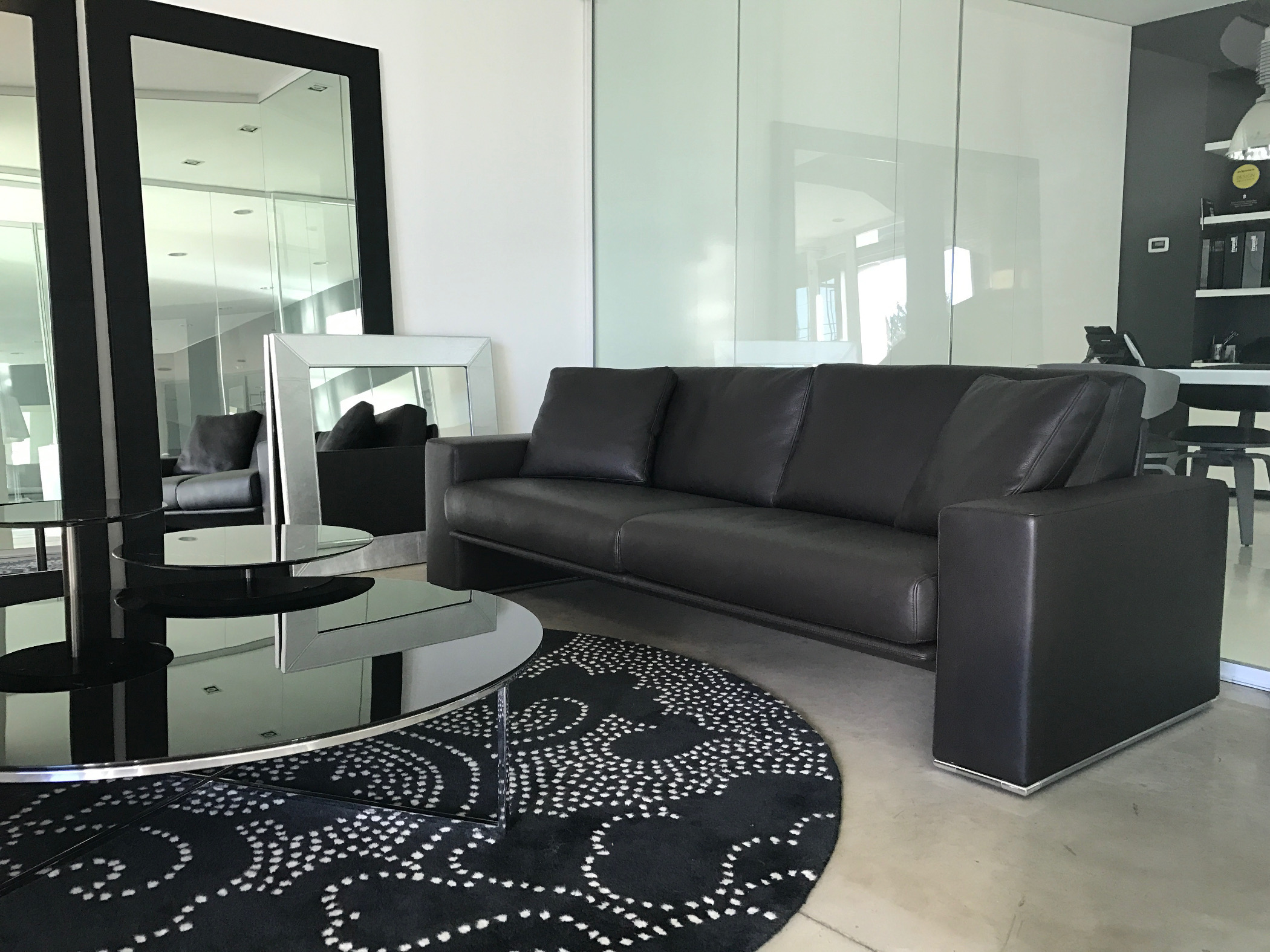 Divani Design Outlet Milano.Modern Linear Sofa Fresh Sofa In Leather Milano Milano