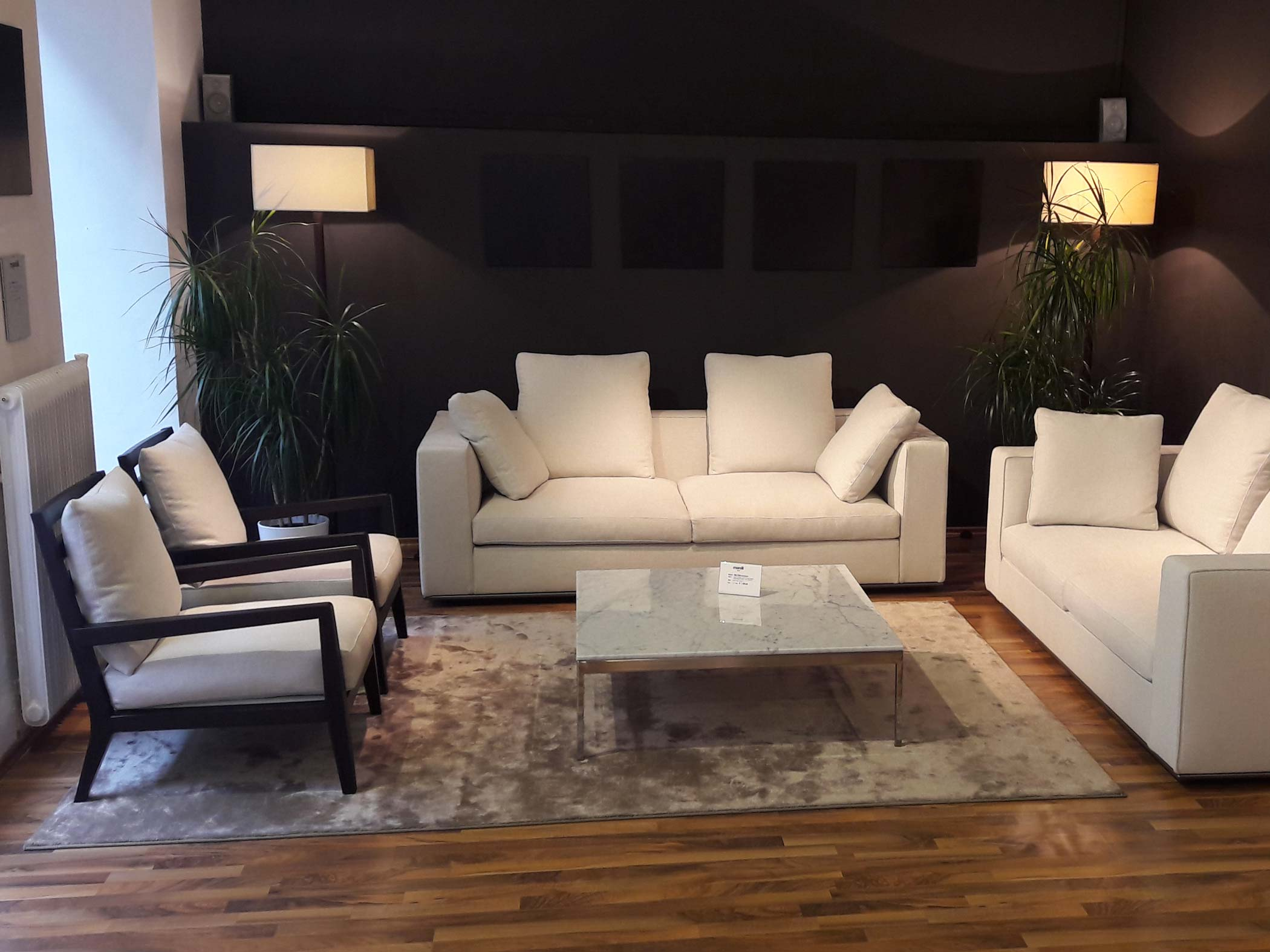 Linear Sofas, Marelli Outlet