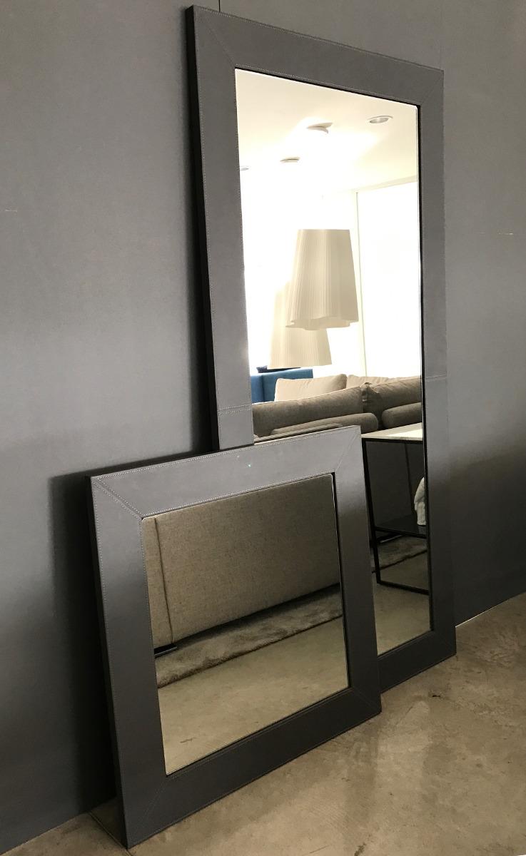 Specchi design moderni rivestiti in pelle Mirror, Mirror