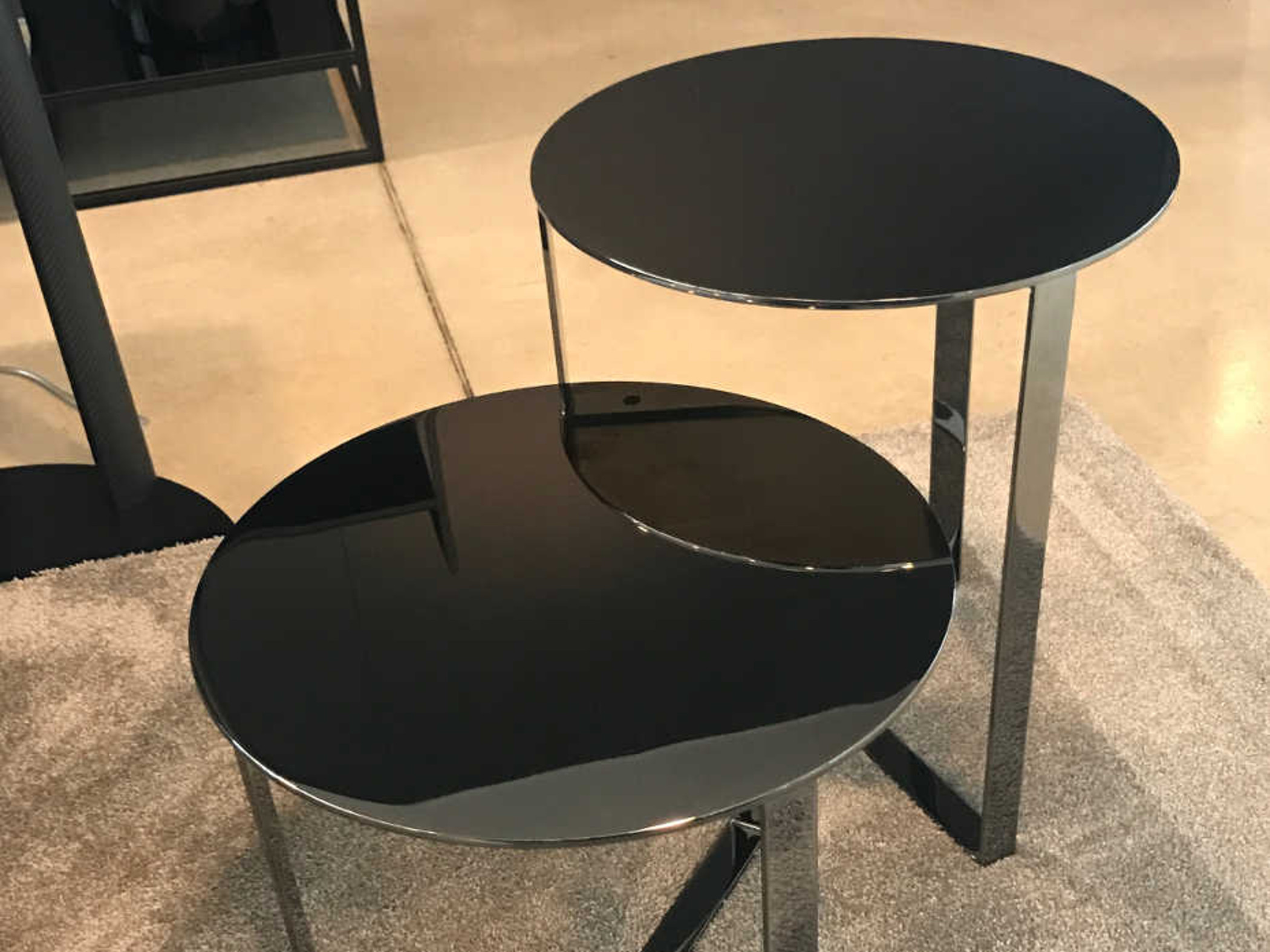 Elegant Usefull Coffee Tables With Metal Top Clip